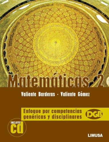9786070501821: Matematicas / Mathematics: Enfoque Por Competencias Genericas Y Disciplinares / Approach by Generic and Disciplinary Skills (Spanish Edition)