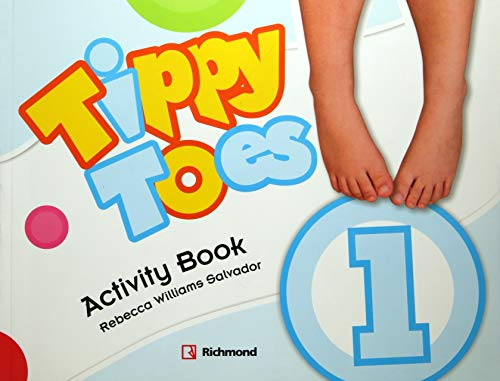 9786070602641: TIPPY TOES 1 ACTIVITY BOOK