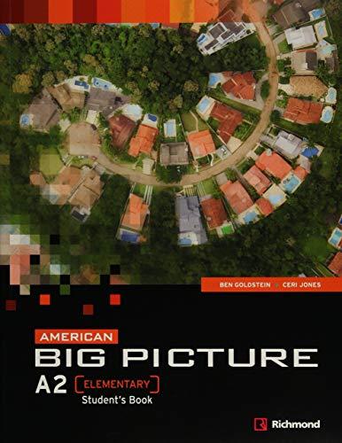 9786070605697: American Big Picture A2. Student's Book (Em Portuguese do Brasil)