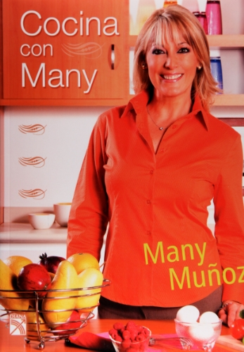 9786070703034: Cocina con Many (Spanish Edition)