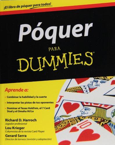 9786070707049: Poquer para dummies (Spanish Edition)