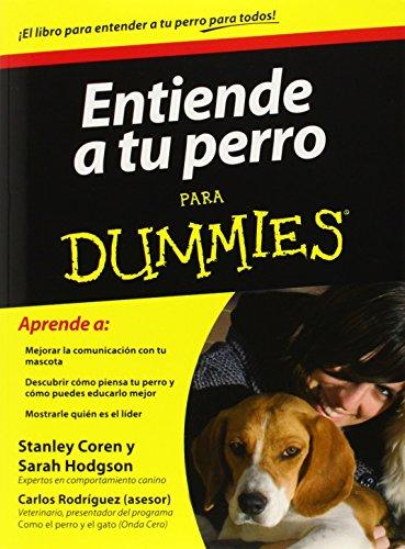 9786070707513: Entiende a tu perro para dummies (Spanish Edition)