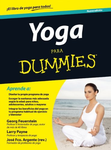 9786070707544: Yoga para dummies (For Dummies) (Spanish Edition)