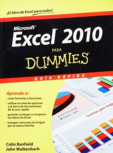 9786070708732: Excel 2010 para dummies (Para Dummies / for Dummies) (Spanish Edition)