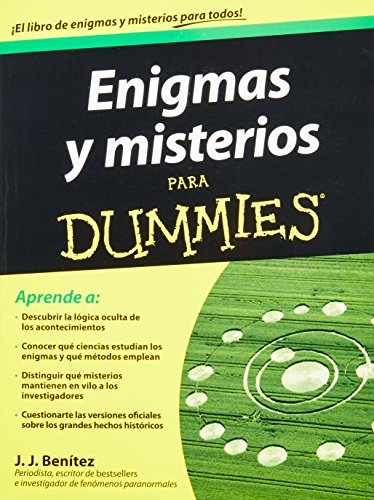 9786070709234: Enigmas y misterios para dummies / Enigmas and mysteries for dummies