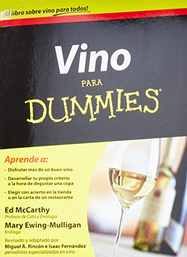 9786070713798: Vino para Dummies / Wine For Dummies