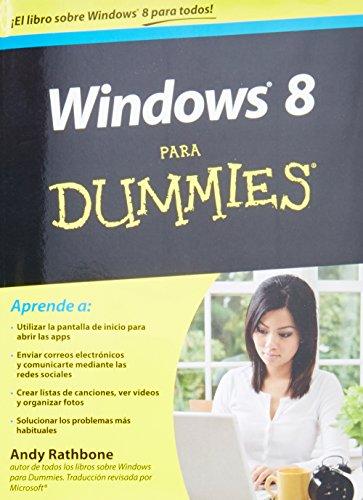 9786070714634: Windows 8 para dummies (Spanish Edition)