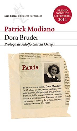 Dora Bruder (Spanish Edition): Modiano, Patrick