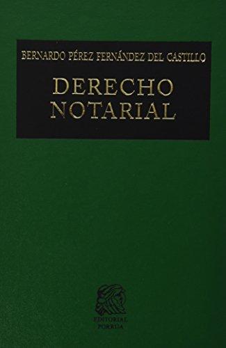 9786070901430: derecho notaria