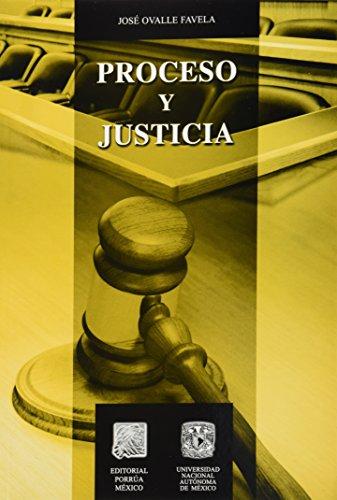 9786070902796: PROCESO Y JUSTICIA
