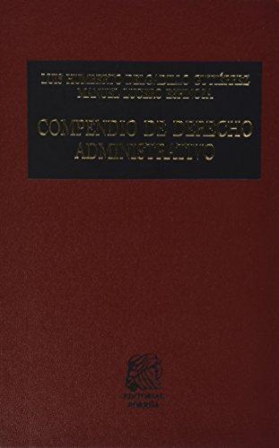 9786070904592: COMPENDIO DE DERECHO ADMIN.PRIMER CURSO
