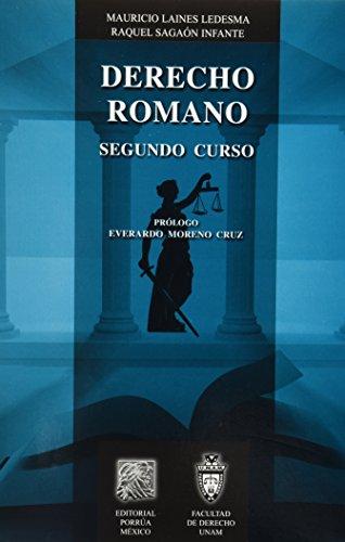 9786070905681: DERECHO ROMANO SEGUNDO CURSO