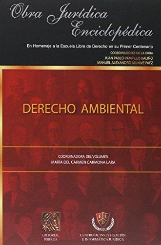 9786070911217: DERECHO AMBIENTAL