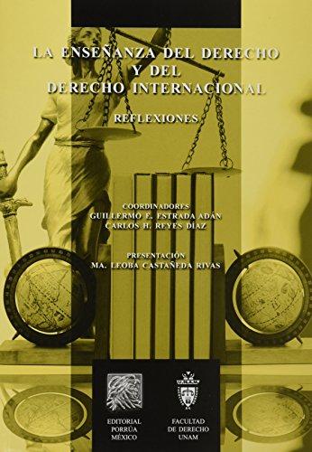 9786070915178: ENSEÑANZA DEL DERECHO Y DEL DERECHO INTERNACIONAL