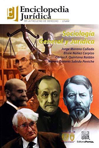 SOCIOLOGIA GENERAL Y JURIDICA: MORENO COLLADO, JORGE