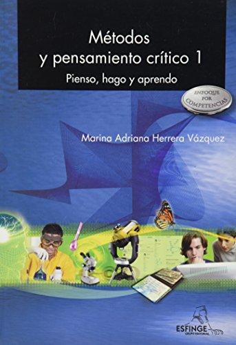 9786071000545: metodos y pensamiento critico 1