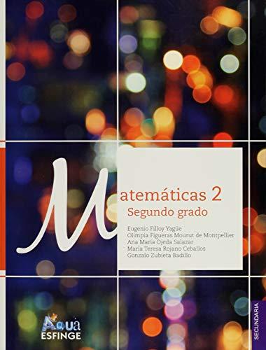 9786071004383: Matemáticas 2 Serie Aqua Segundo grado