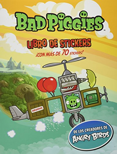 9786071127594: ANGRY BIRDS BAD PIGGIES LIBRO DE STICKER