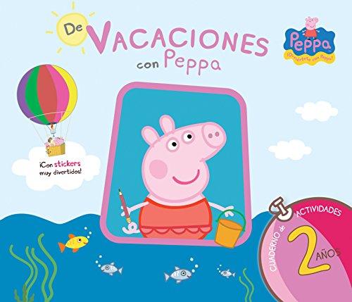 9786071134349: DE VACACIONES CON PEPPA: CUADERNO DE ACTIVIDADES 2 AÑOS