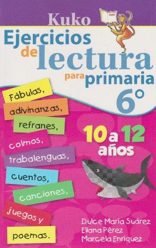 9786071409300: KUKO: Ejercicios de lectura para primaria 6° (Spanish Edition)