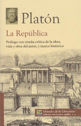 La republica. Prologo con resena critica de: Platon