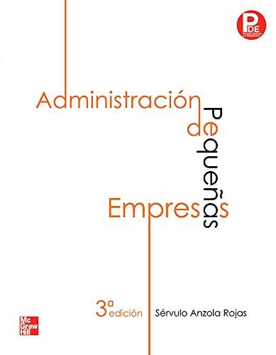 9786071502889: Administración de Pequeñas empresas (Spanish Edition)