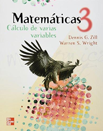 MATEMATICAS 3 CALCULO DE VARIAS VARIABLES: ZILL