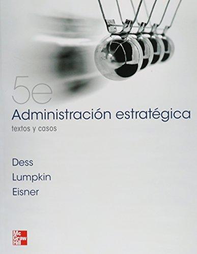 9786071506016: Administración Estrategica