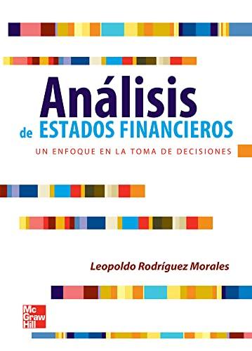 9786071507396: Analisis De Estados Financieros (Spanish Edition)