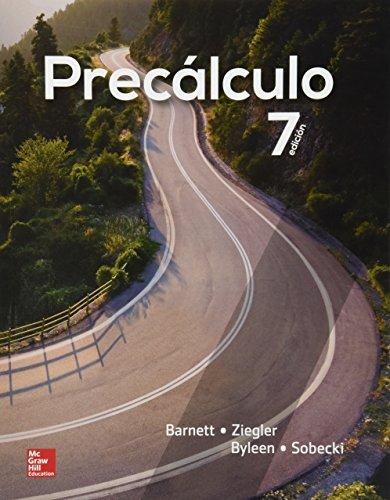 PRECALCULO [Paperback] by Varios