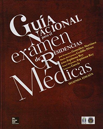 9786071509604: GUIA NACIONAL PARA EL EXAMEN DE RESIDENC