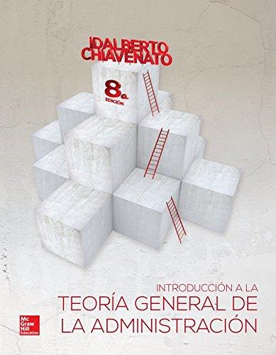 Introducción a la teoria general de la: Chiavenato, Idalberto