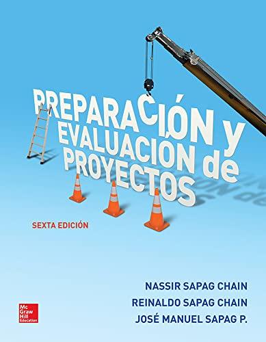preparacion y evaluacion de proyectos nassir sapag quinta edicion