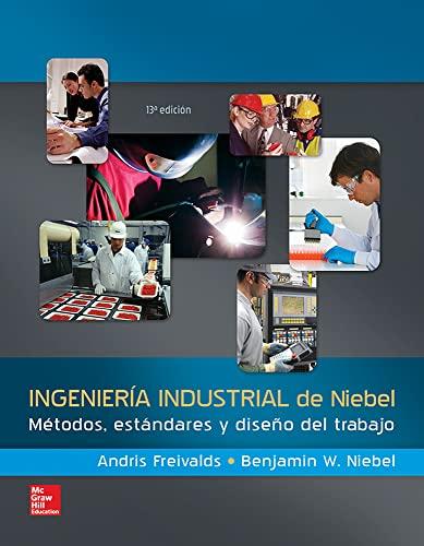 INGENIERIA INDUSTRIAL METODOS ESTANDARES: FREIVALDS (NIEBEL)