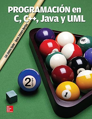 9786071512123: Programación en C, C++, Java y UML