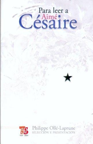 9786071600165: Para Leer a Aime Cesaire (Tezontle)