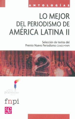 Lo mejor del periodismo de América Latina: Económica, Fondo de