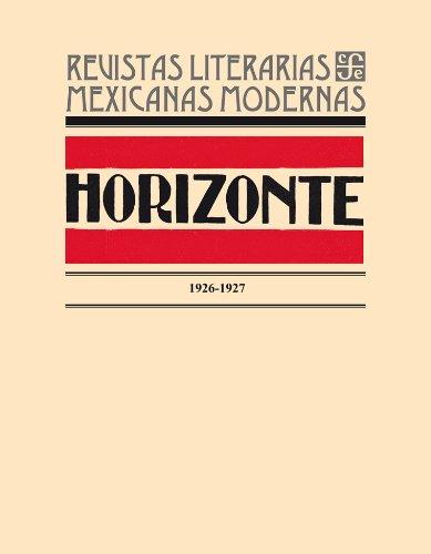 9786071607379: Horizonte, 1926-1927. Edición facsimilar