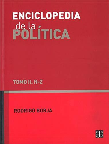 9786071608796: ENCICLOPEDIA DE LA POLITICA VOL II 4¦ED