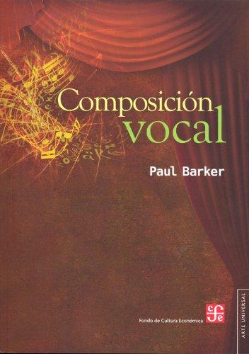 9786071609670: Composicion vocal (Arte Universal) (Spanish Edition)