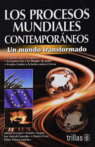 9786071701817: LOS PROCESOS MUNDIALES CONTEMPORANEOS