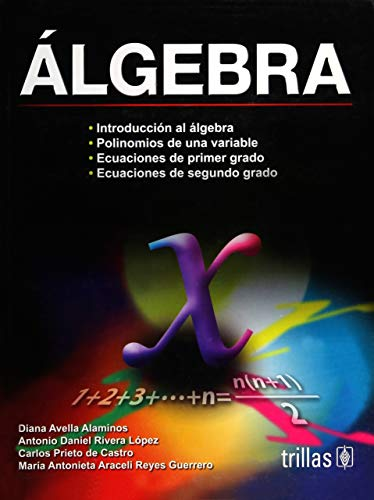 Algebra (Spanish Edition) [Paperback] by Alaminos, Diana