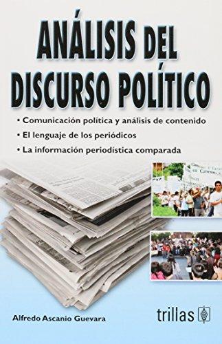 9786071705761: Analisis del discurso politico / Political discourse analysis (Spanish Edition)