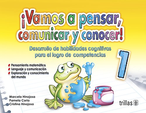 9786071709042: Vamos a pensar, comunicar y conocer! / Let us think, communicate and learn! (Spanish Edition)