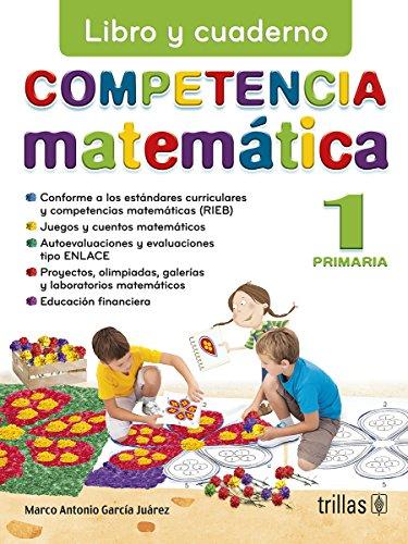 9786071710444: COMPETENCIA MATEMATICA 1: LIBRO Y CUADERNO