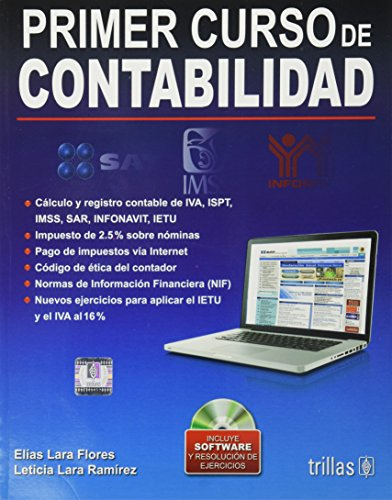9786071712356: Primer curso de contabilidad / First accounting course (Spanish Edition)