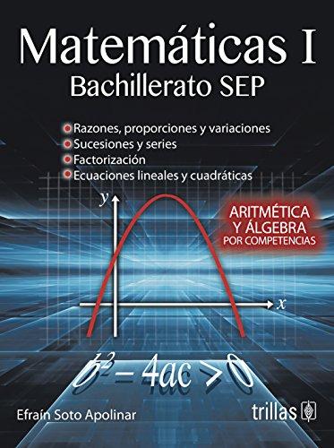 9786071715968: Matematicas 1: Bachillerato SEP (Spanish Edition)