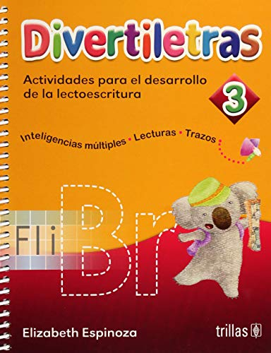 9786071715999: Divertiletras 3: Actividades Para El Desarrollo De La Lectoescritura / Activities for the Development of Reading and Writing