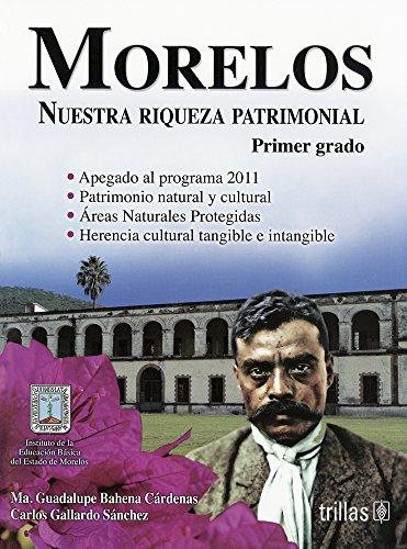 9786071717207: MORELOS: NUESTRA RIQUEZA PATRIMONIAL, PRIMER GRADO