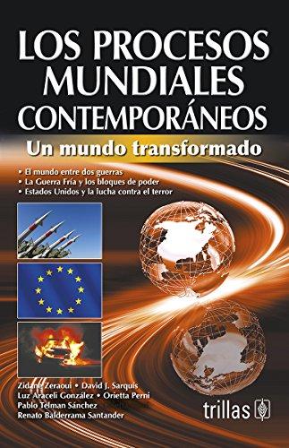 9786071719775: LOS PROCESOS MUNDIALES CONTEMPORANEOS
